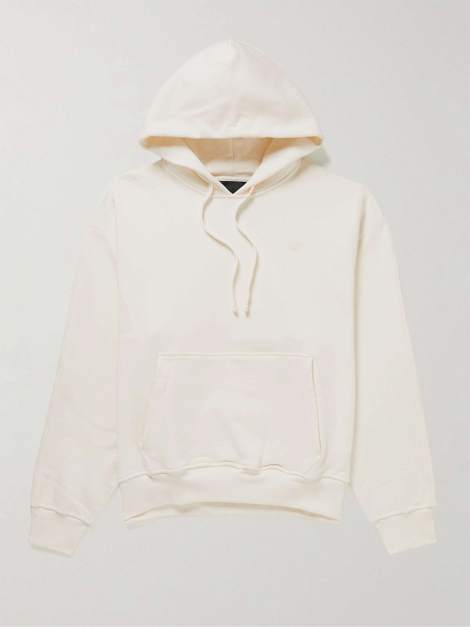 Essentials Oversized Logo-Appliquéd Cotton-Blend Jersey Hoodie