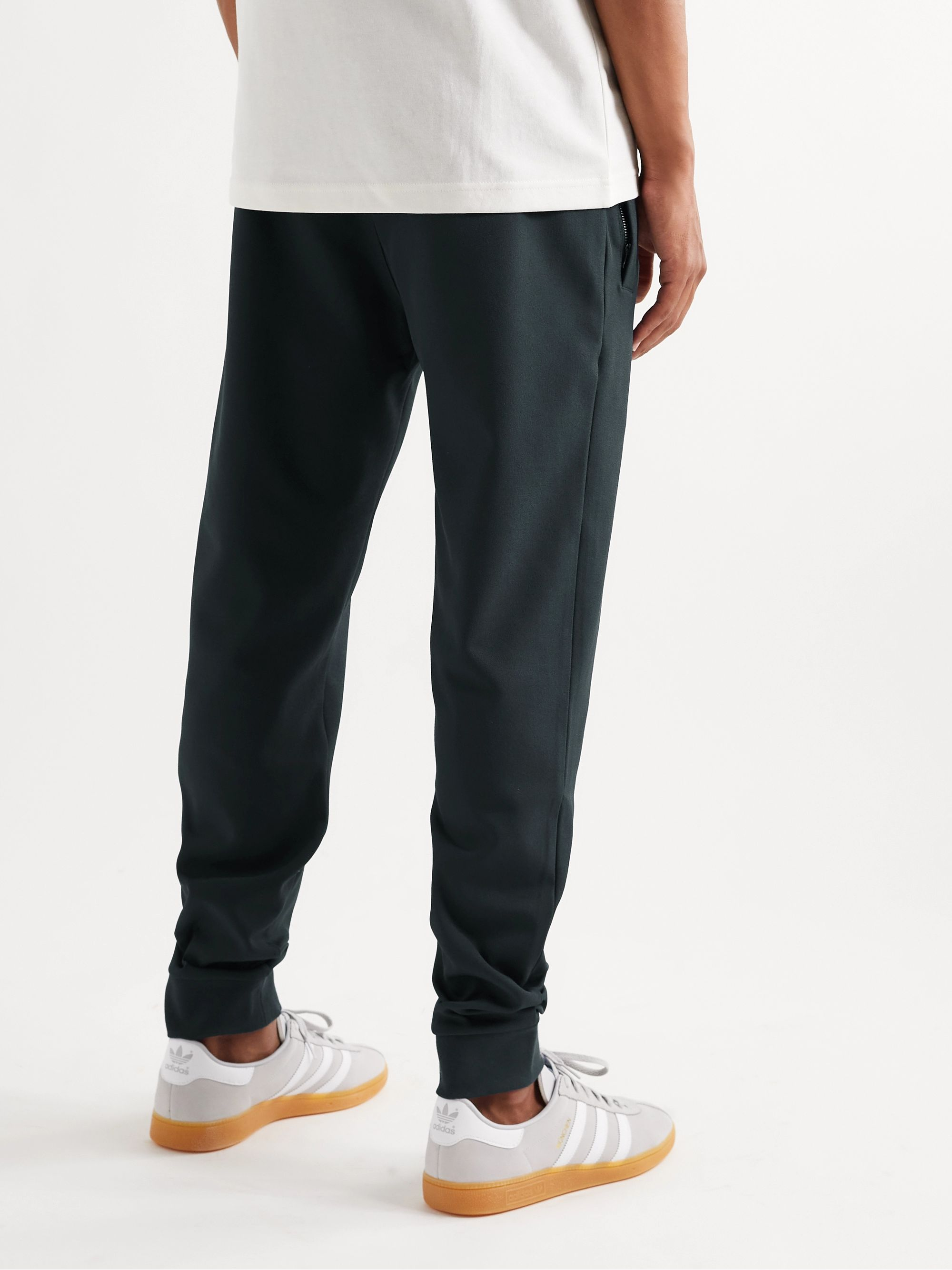 SPEZIAL Ewood Tapered Logo-Appliquéd Jersey Sweatpants