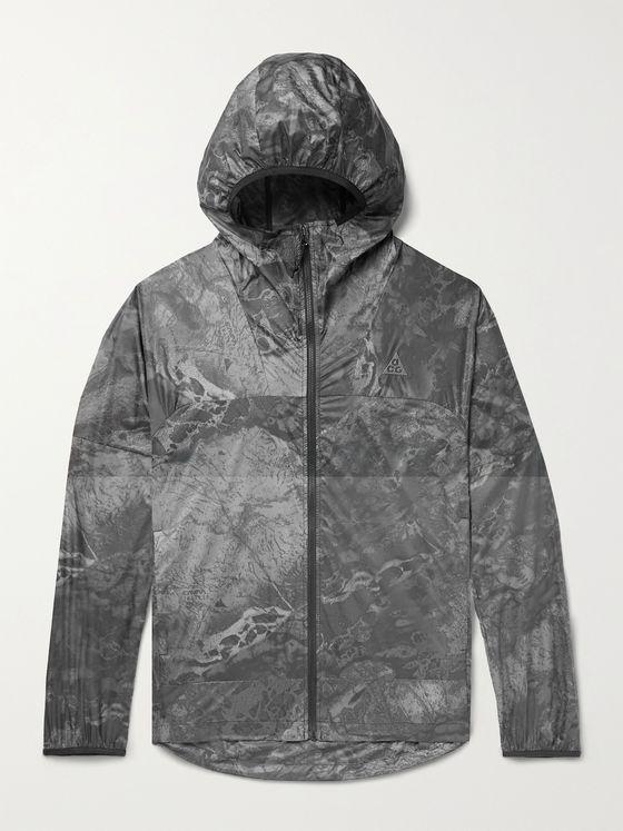 NIKE NRG ACG Cinder Cone Printed Recycled Nylon Jacket
