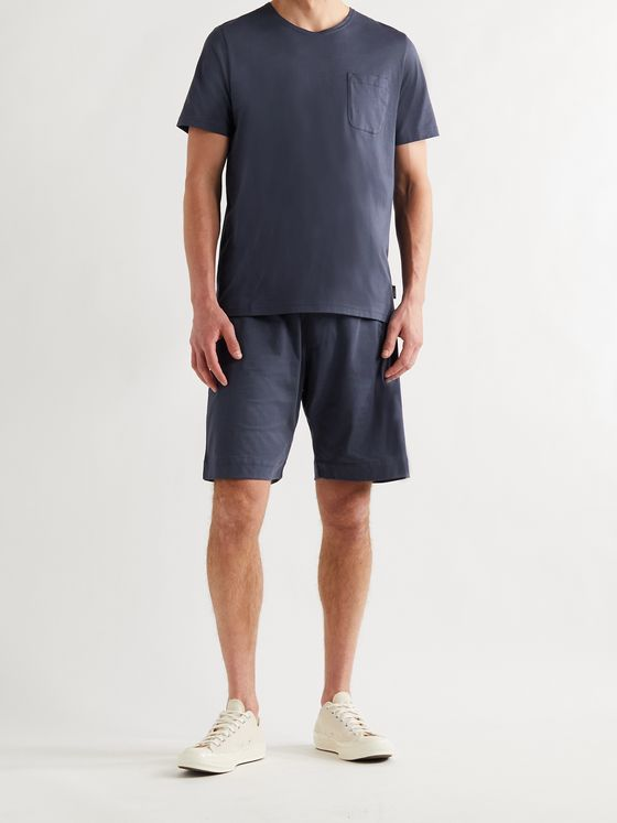 OLIVER SPENCER LOUNGEWEAR York Supima Cotton-Jersey T-Shirt