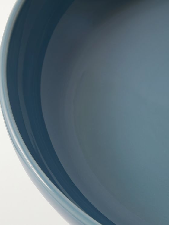 R+D.LAB Bilancia Glazed Ceramic Extra Large Flat Bowl