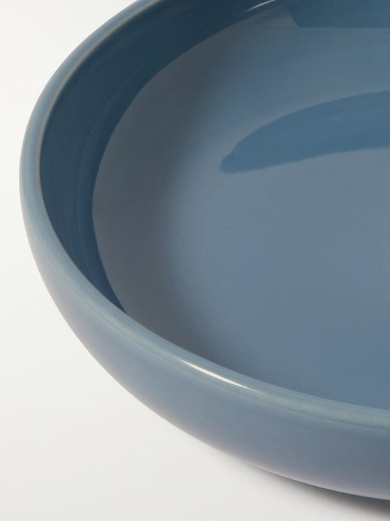 R+D.LAB Bilancia Glazed Ceramic Large Flat Bowl
