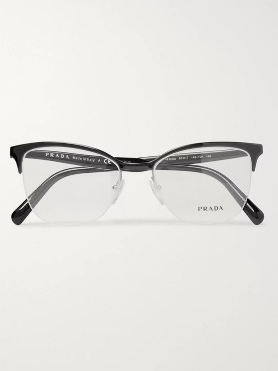 Prada D-Frame Acetate Optical Glasses