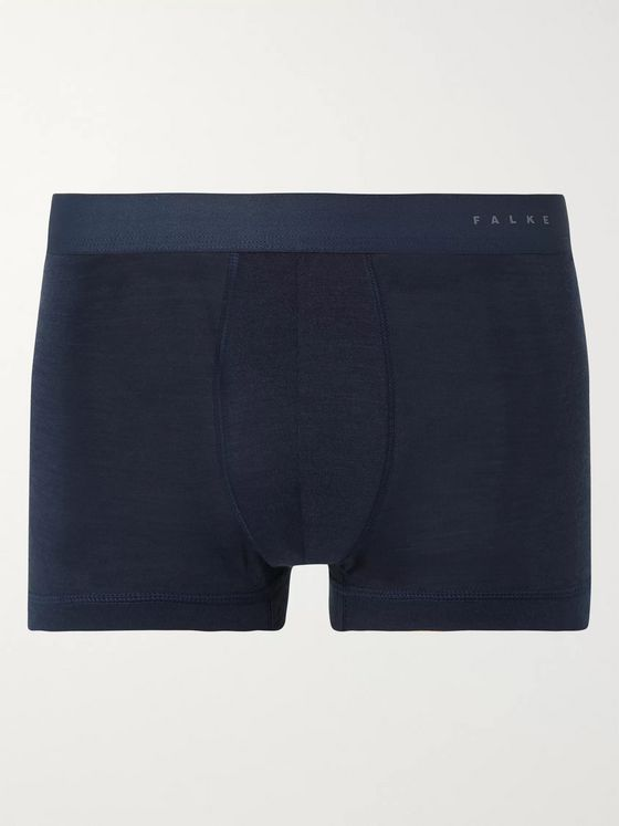 FALKE Ergonomic Sport System Merino Wool and Silk-Blend Boxer Briefs