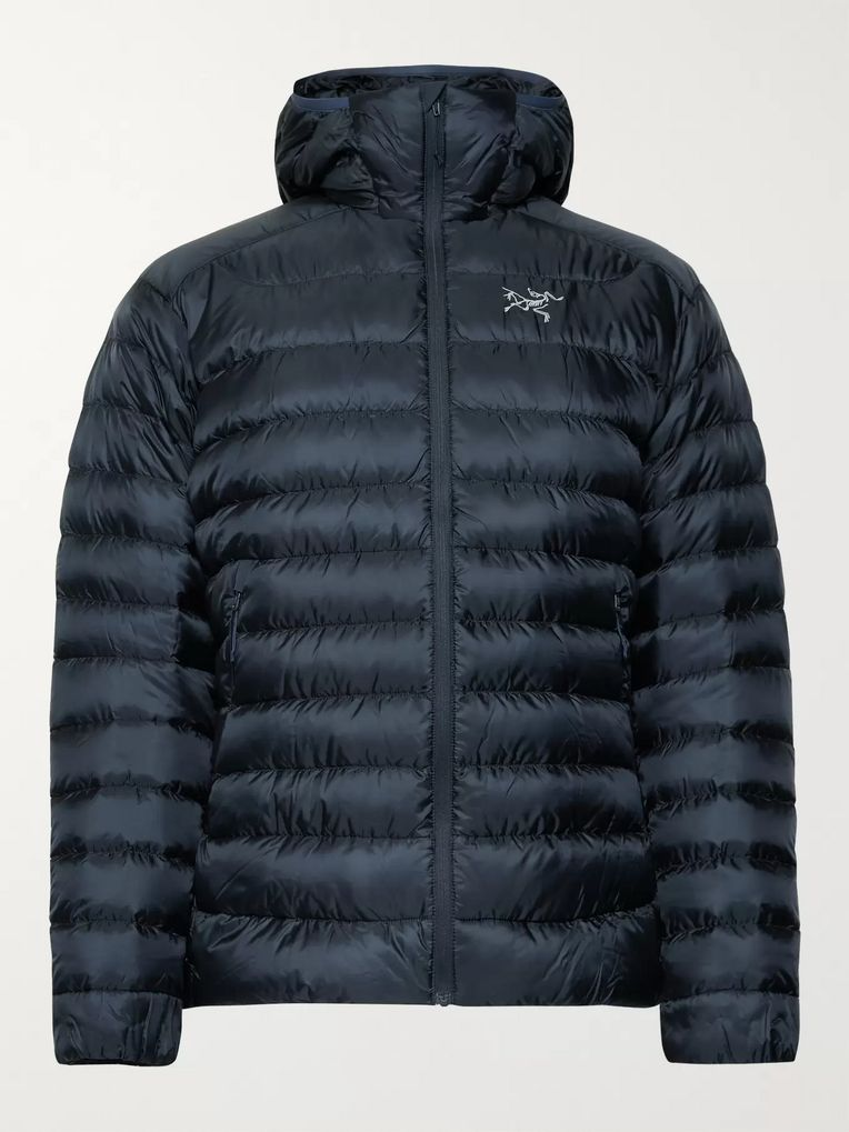 Arc'teryx Cerium LT Quilted Ripstop Hooded Down Jacket