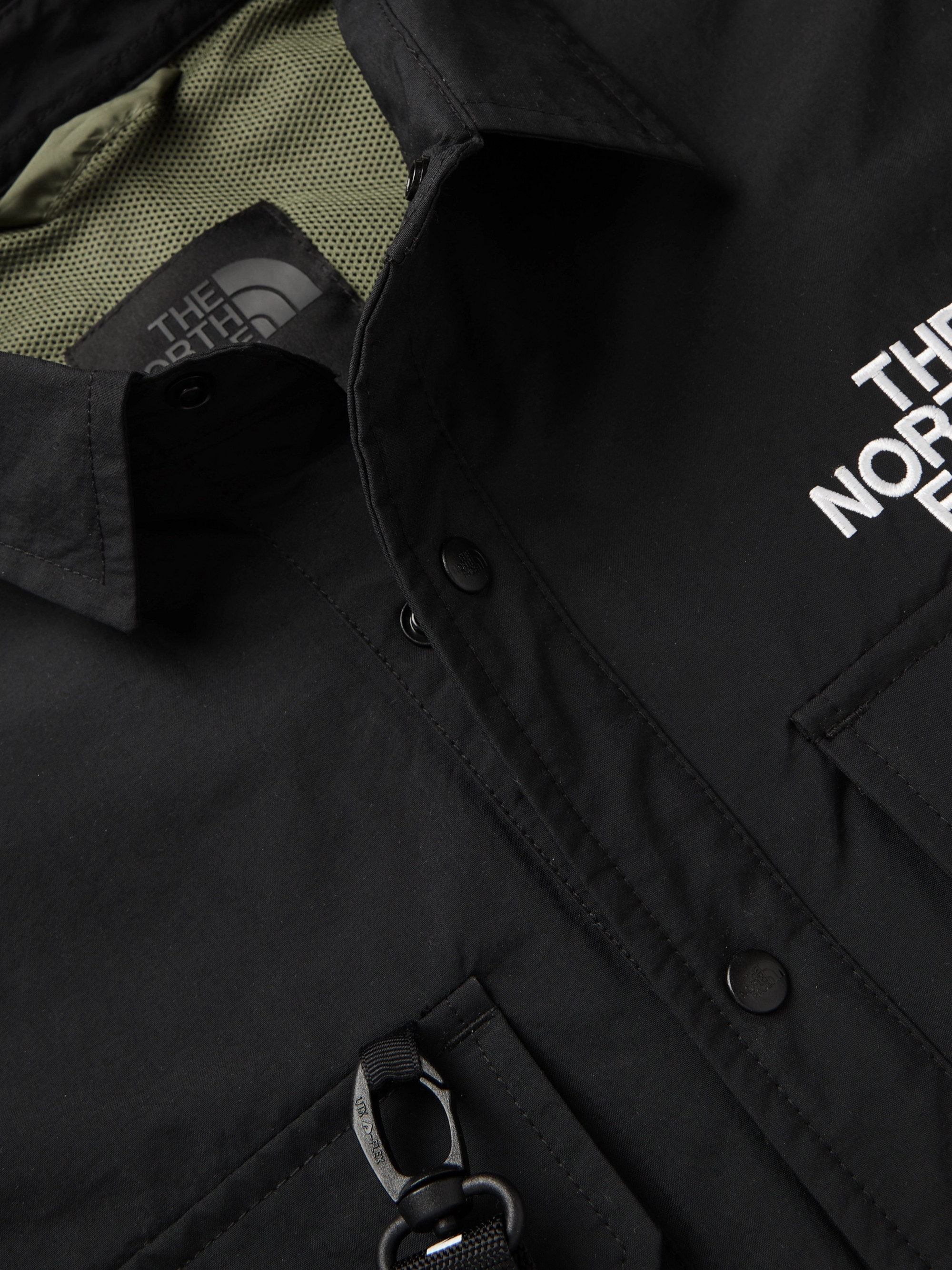 The North Face Black Series KK Coach Webbing-Detailed Shell Overshirt