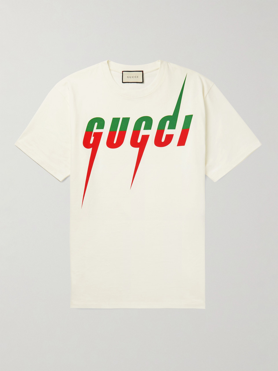 Gucci Oversized Logo-Print Cotton-Jersey T-Shirt