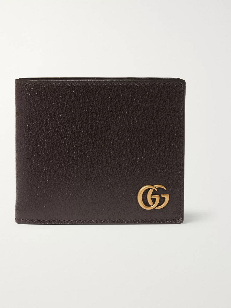 Gucci Textured-Leather Billfold Wallet