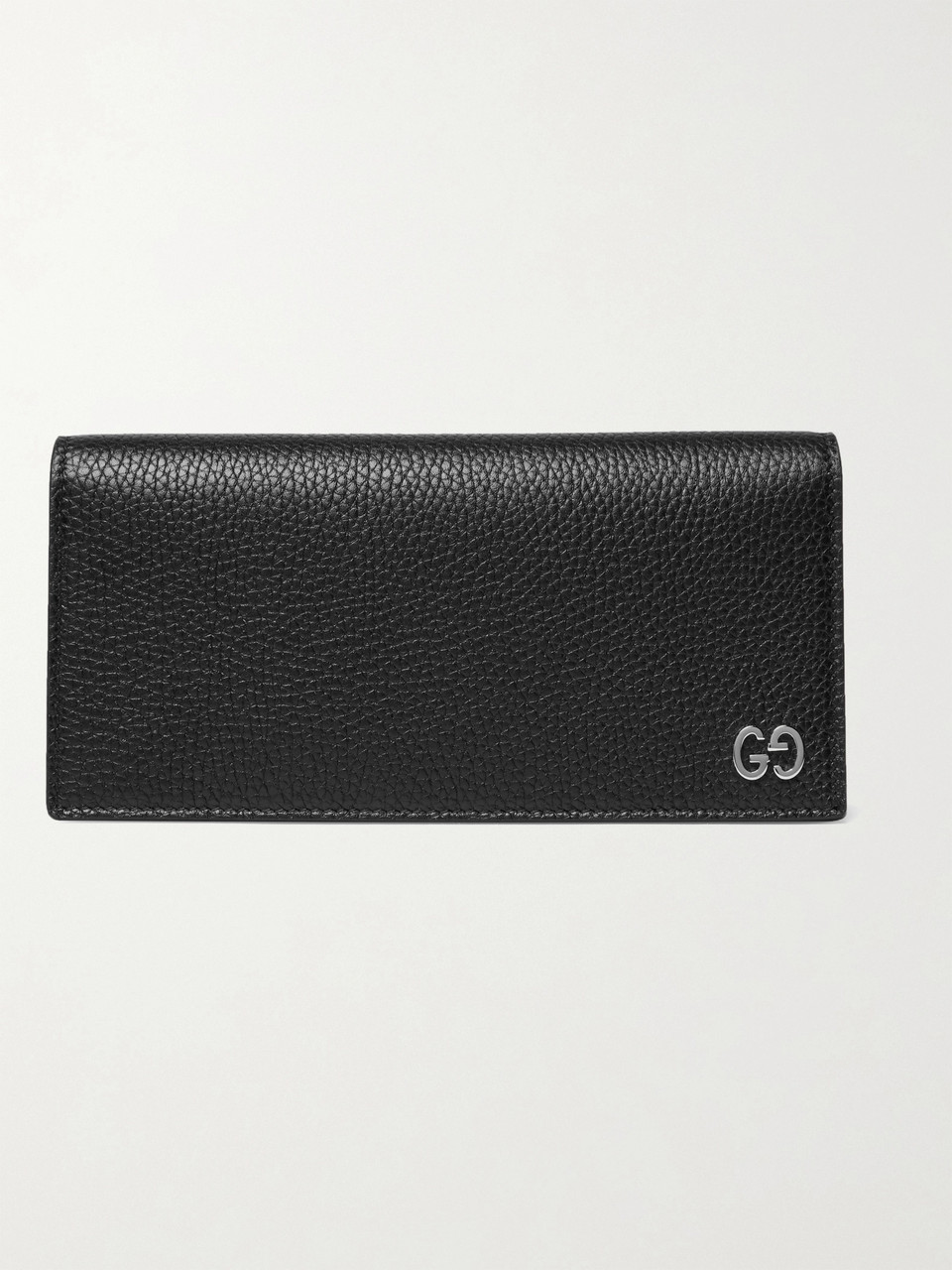 Gucci Dorian Full-Grain Leather Billfold Wallet