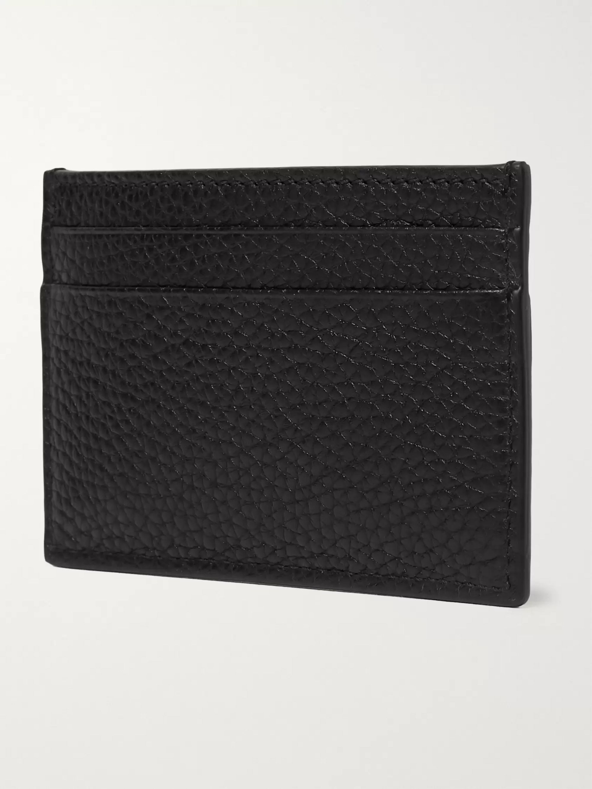 Gucci Dorian Full-Grain Leather Cardholder