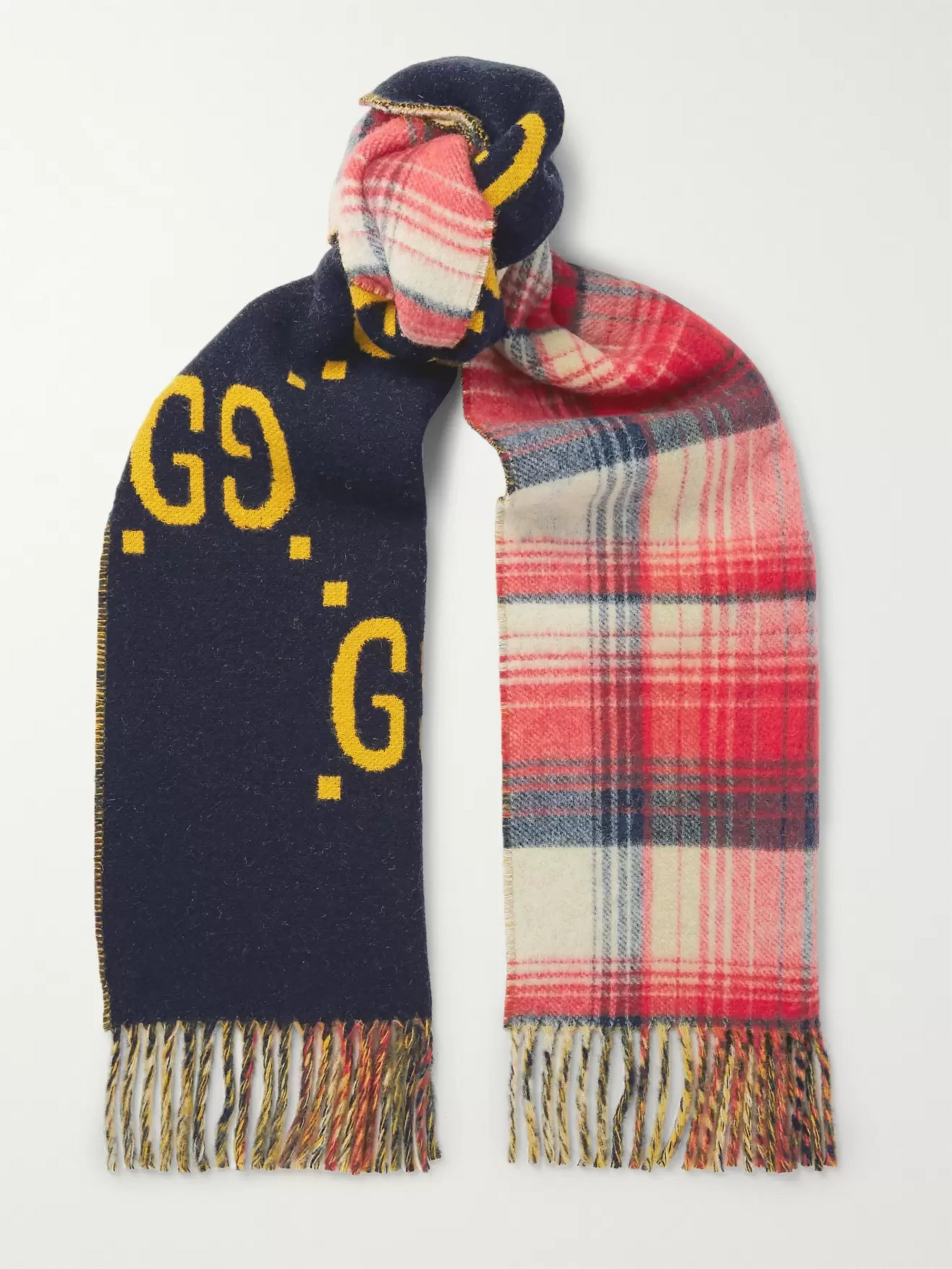 Gucci Reversible Wool Scarf