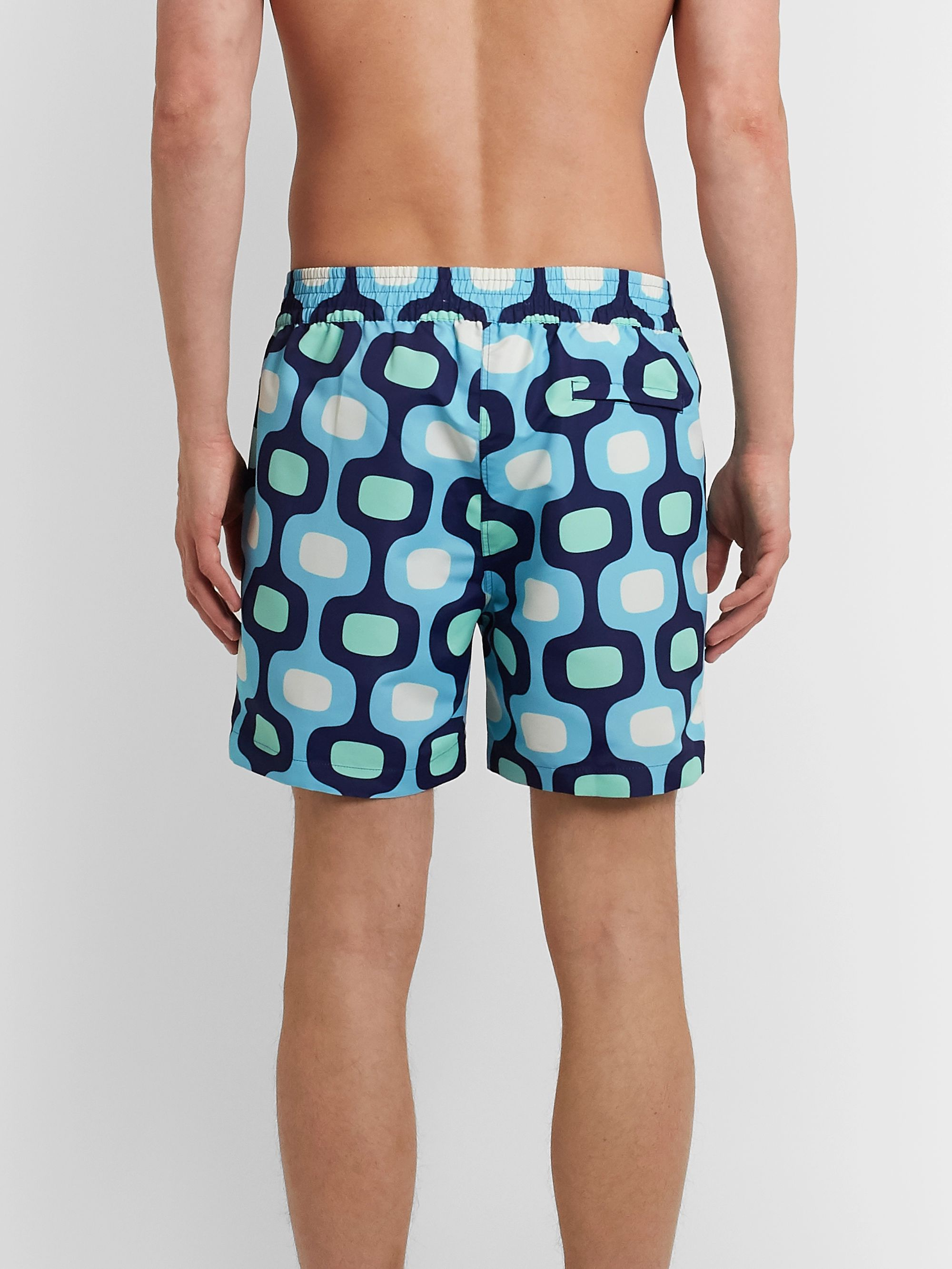 Frescobol Carioca Ipanema Slim-Fit Printed Swim Shorts