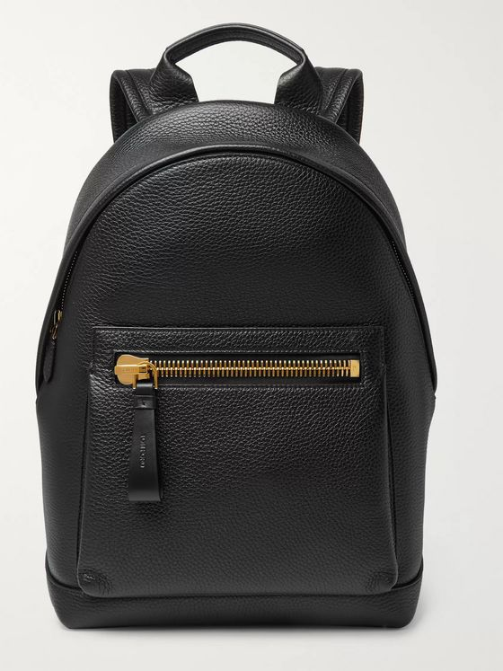 TOM FORD Buckley Full-Grain Leather Backpack