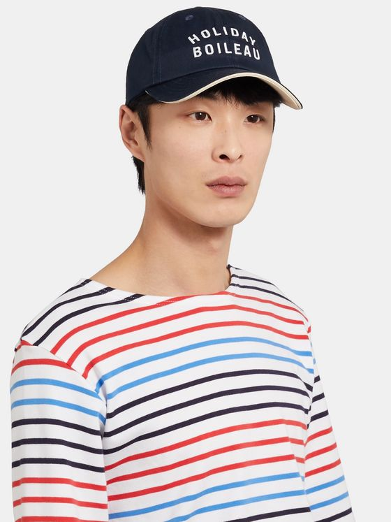 Holiday Boileau Logo-Embroidered Cotton-Twill Baseball Cap