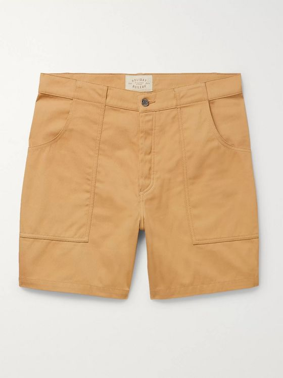 Holiday Boileau The Bush Slim-Fit Cotton-Twill Shorts