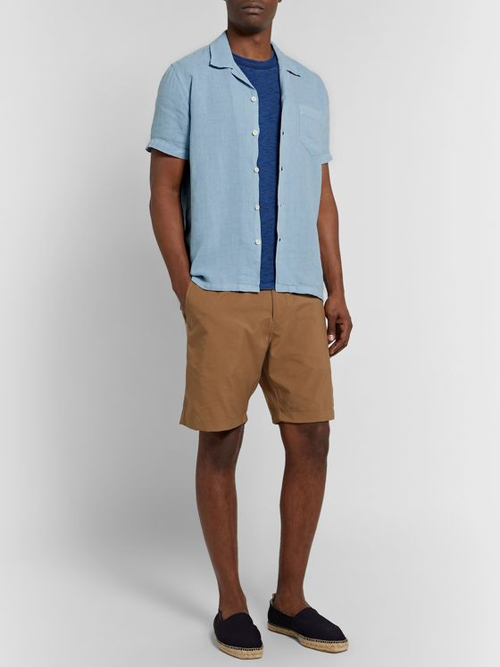 120% Camp-Collar Linen Shirt