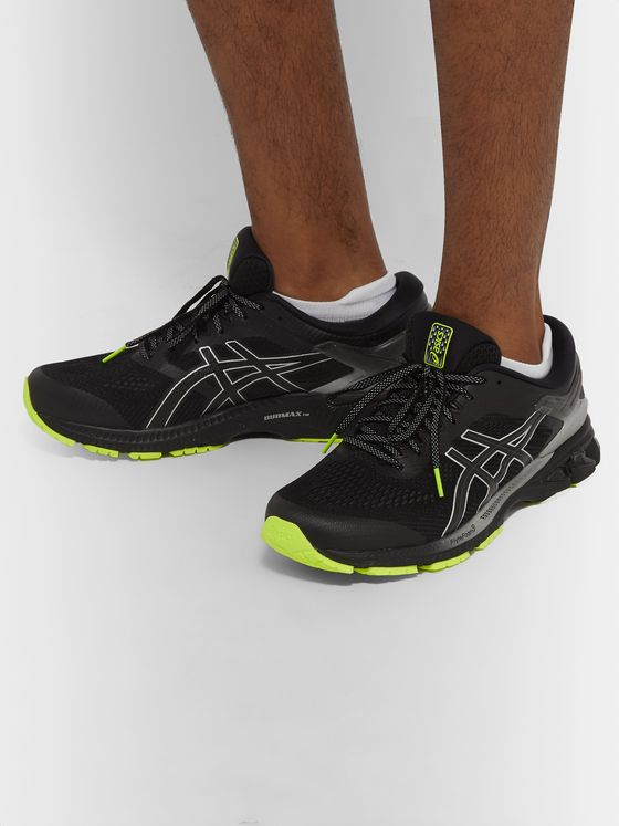 ASICS GEL-KAYANO 26 LITE-SHOW Mesh and Rubber Running Sneakers