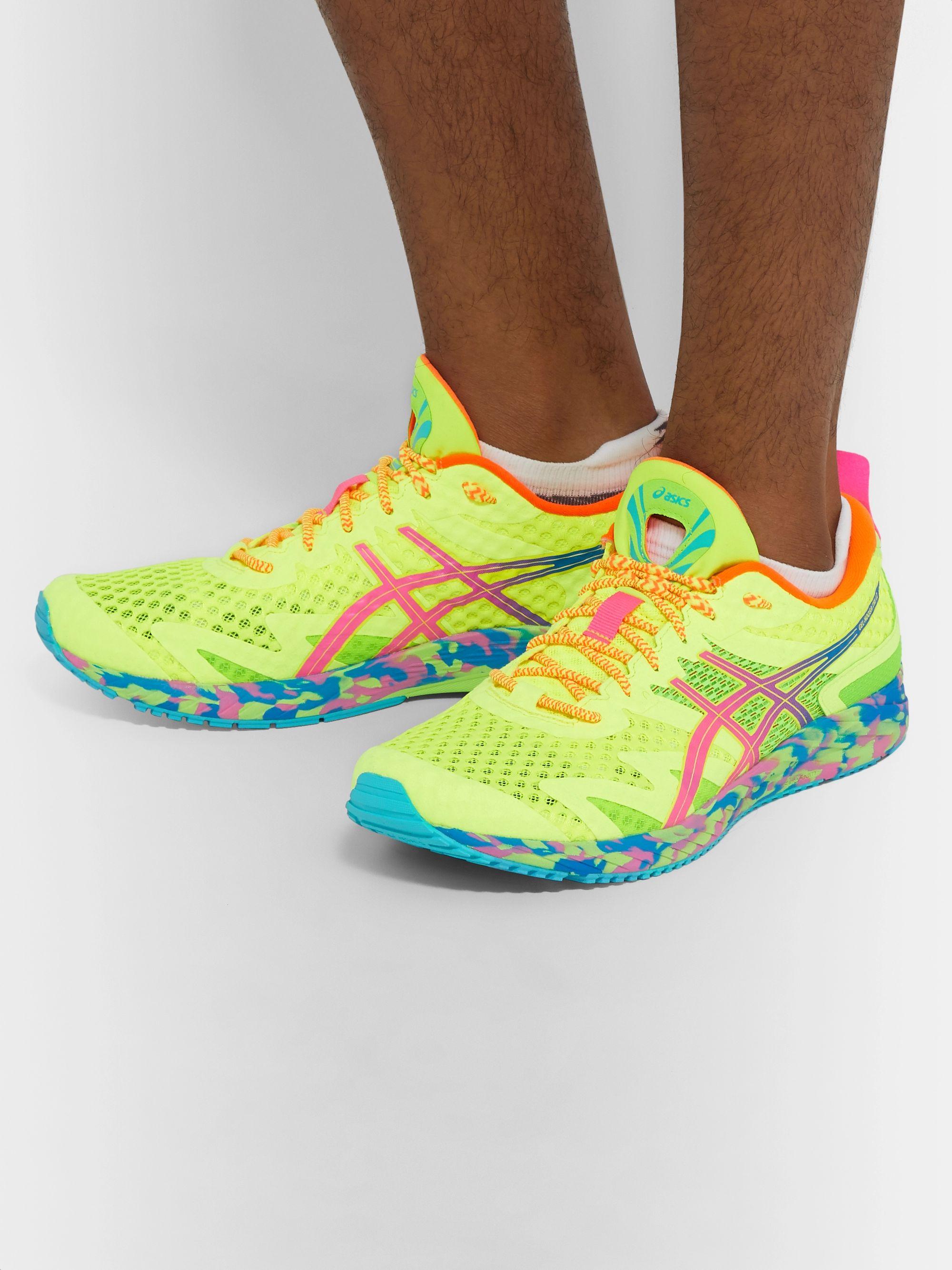 arrebatar proporcionar Desafortunadamente  Bright yellow GEL-NOOSA TRI 12 Mesh and Rubber Sneakers | ASICS ...