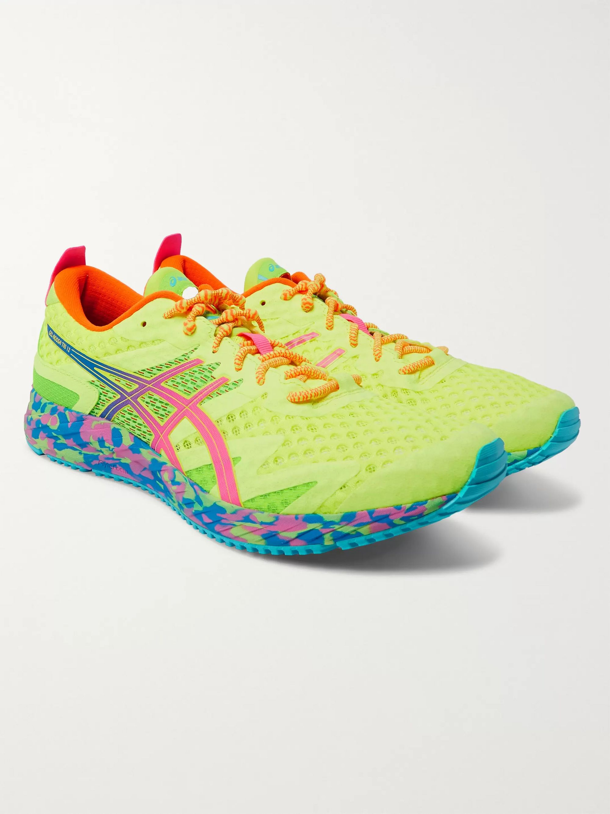 ASICS GEL-NOOSA TRI 12 Mesh and Rubber Sneakers