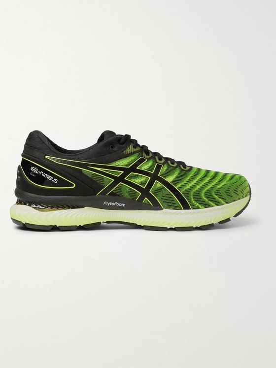 ASICS GEL‑NIMBUS 22 Mesh and Rubber Running Sneakers