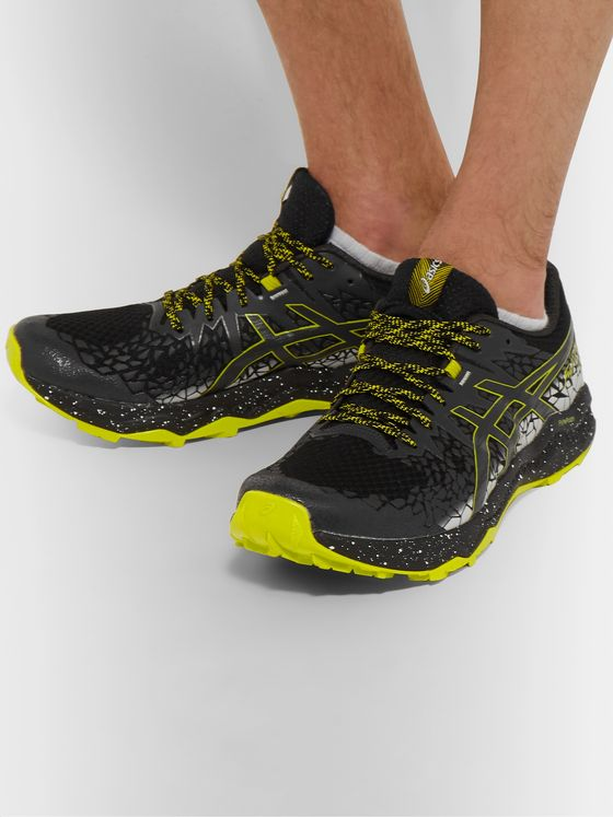 ASICS GEL-FUJITRABUCO Lyte Mesh and Rubber Trail Running Sneakers