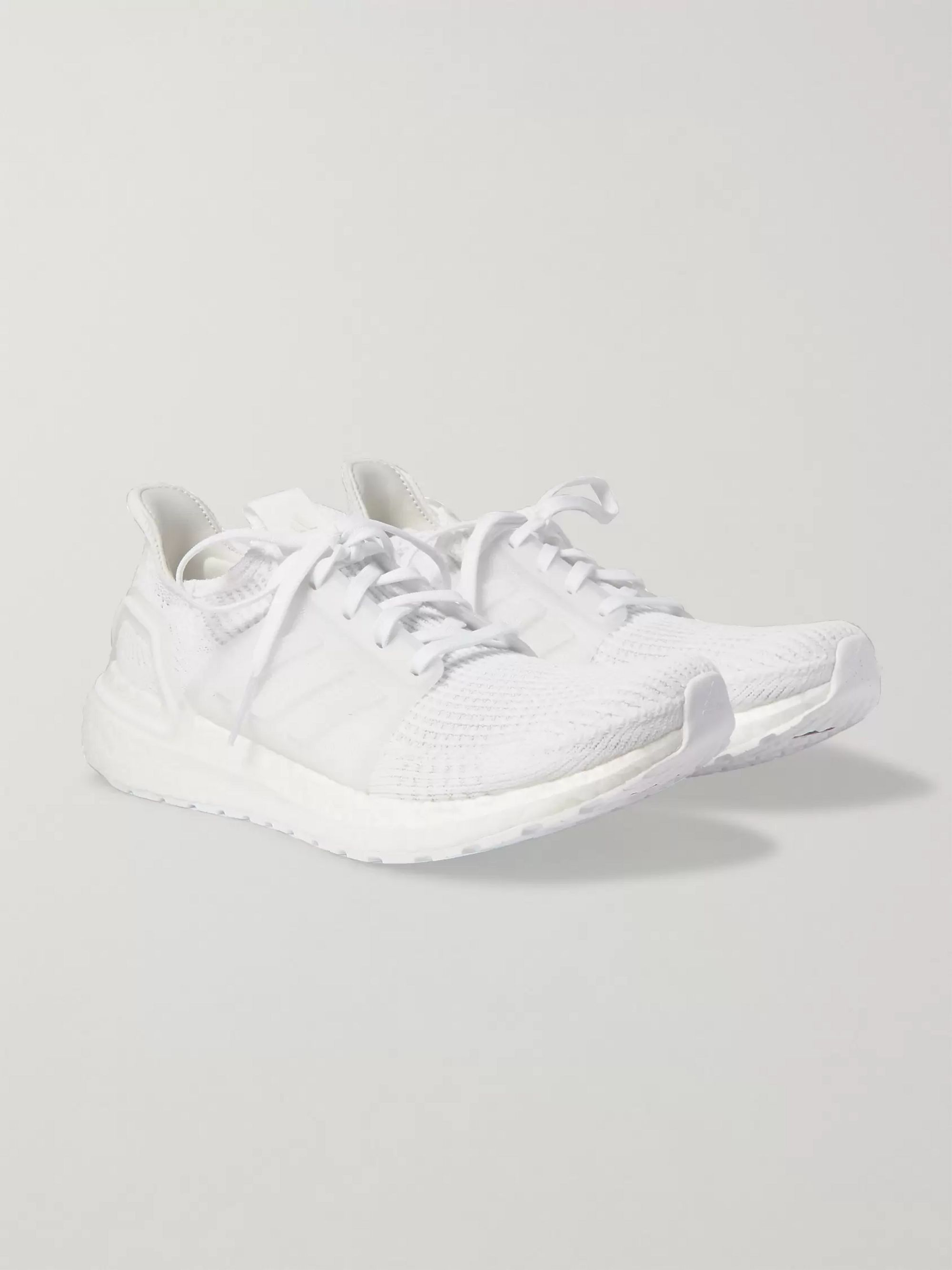 UltraBOOST 19 Rubber Trimmed Primeknit Running Sneakers