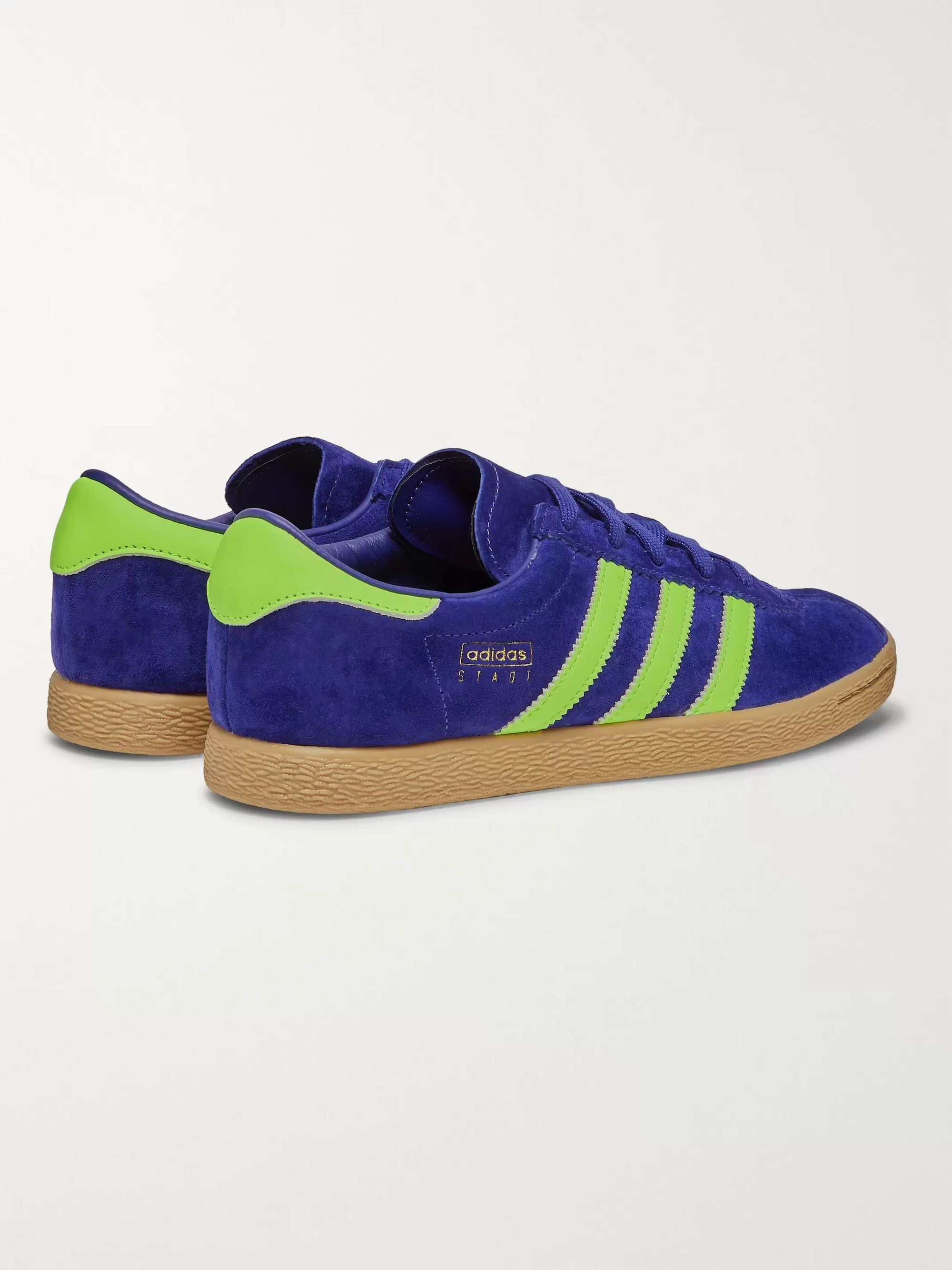 Stadt Suede and Leather Sneakers