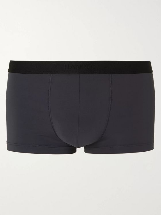 Hanro Micro Touch Stretch-Jersey Boxer Briefs