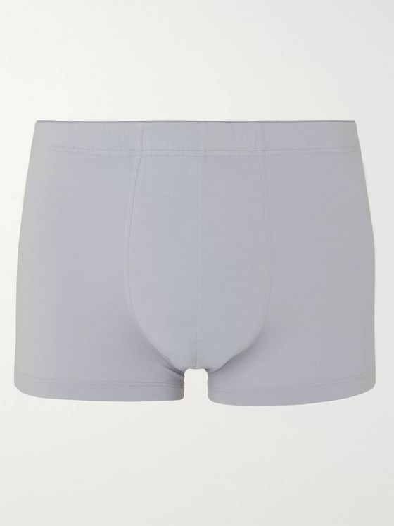 Hanro Stretch-Cotton Boxer Briefs