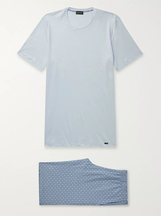 Hanro Cotton-Jersey Pyjama Set
