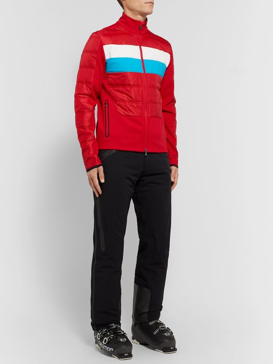 Bogner Colour-Block Quilted Ski Jacket