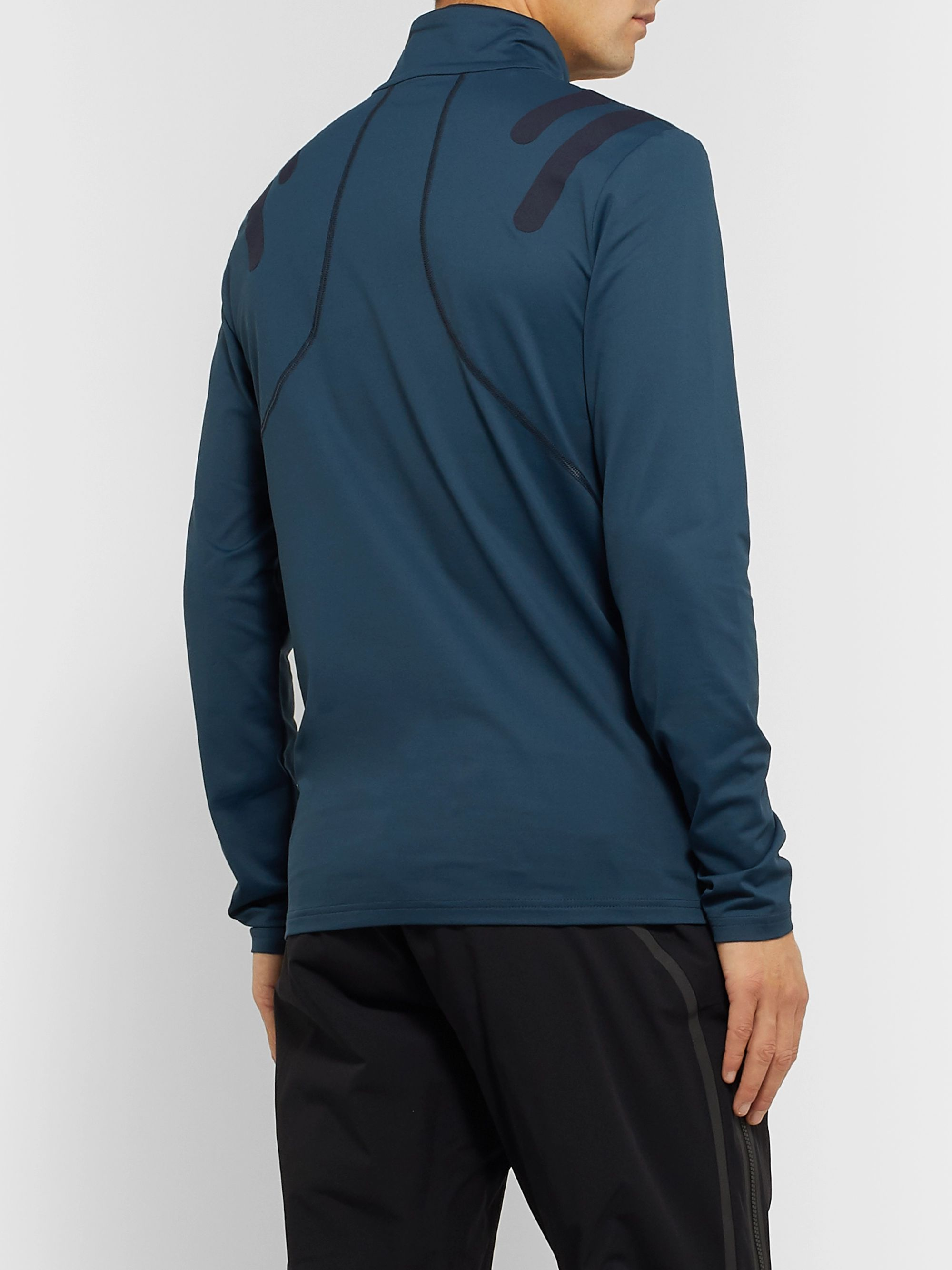Bogner Jaxx Stretch-Jersey Half-Zip Base Layer