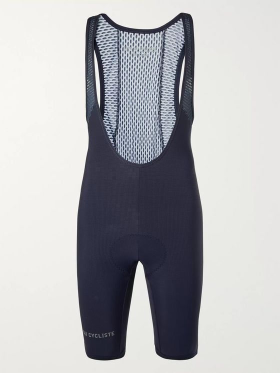 CAFE DU CYCLISTE Adelé Stretch-Jersey Cycling Bib Shorts