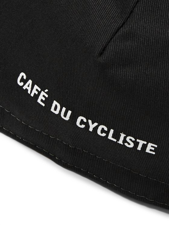 Cafe du Cycliste Polka-Dot Twill Cycling Cap