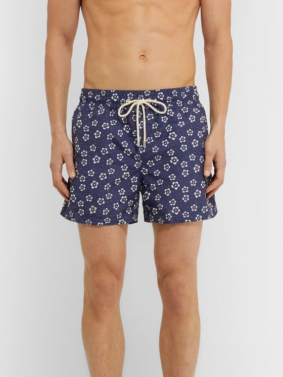 Atalaye Elhorria Short-Length Printed Swim Shorts