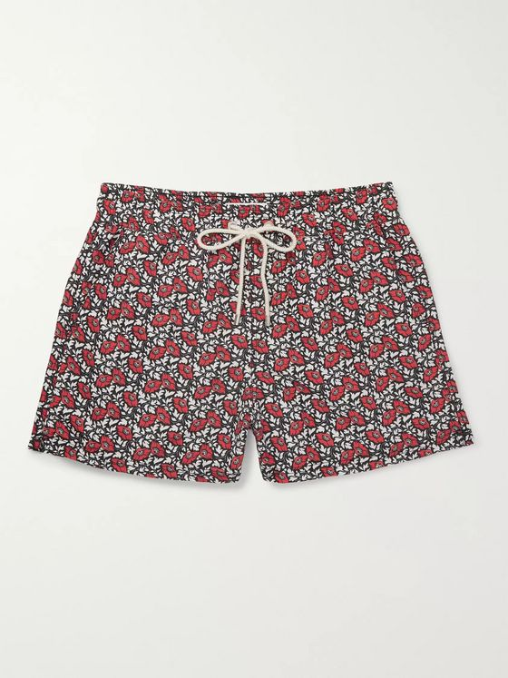Atalaye Bakian Short-Length Printed Swim Shorts