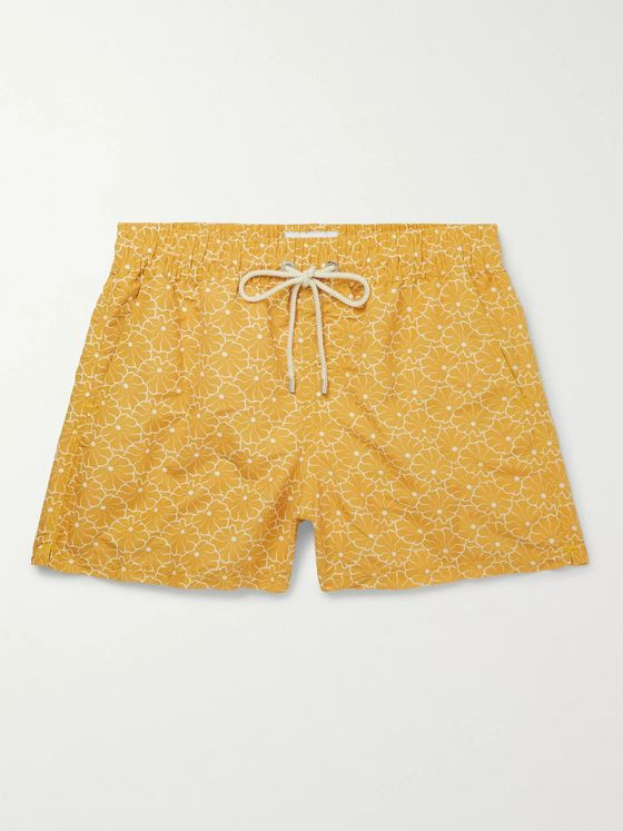 Atalaye Caritza Short-Length Printed Swim Shorts