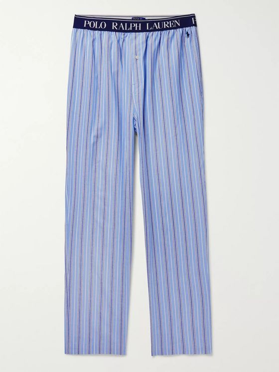 Polo Ralph Lauren Striped Cotton Pyjama Trousers