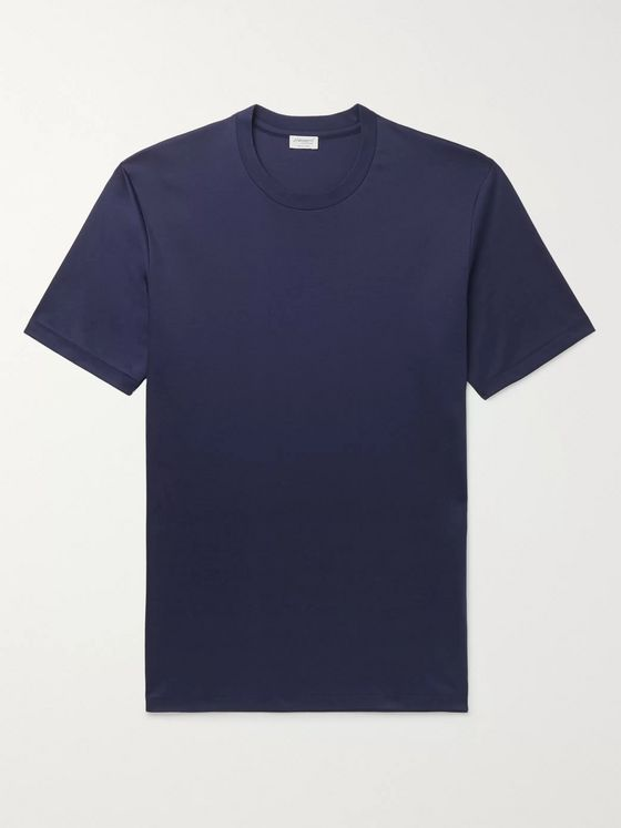 Zimmerli Slim-Fit Sea Island Cotton-Jersey T-Shirt