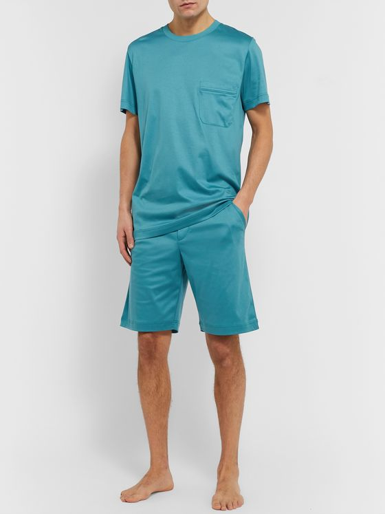 Zimmerli Sea Island Cotton-Jersey Pyjama Set