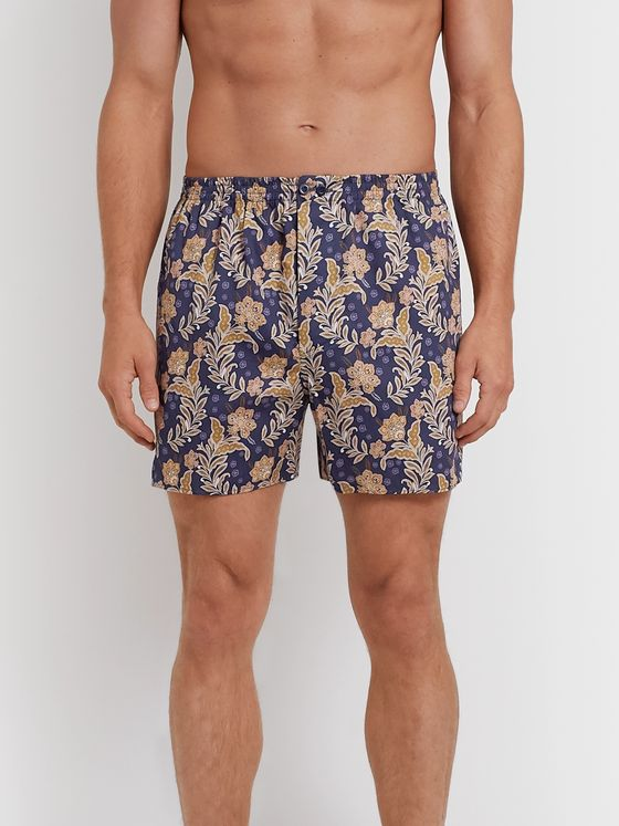 Zimmerli Printed Cotton Boxers