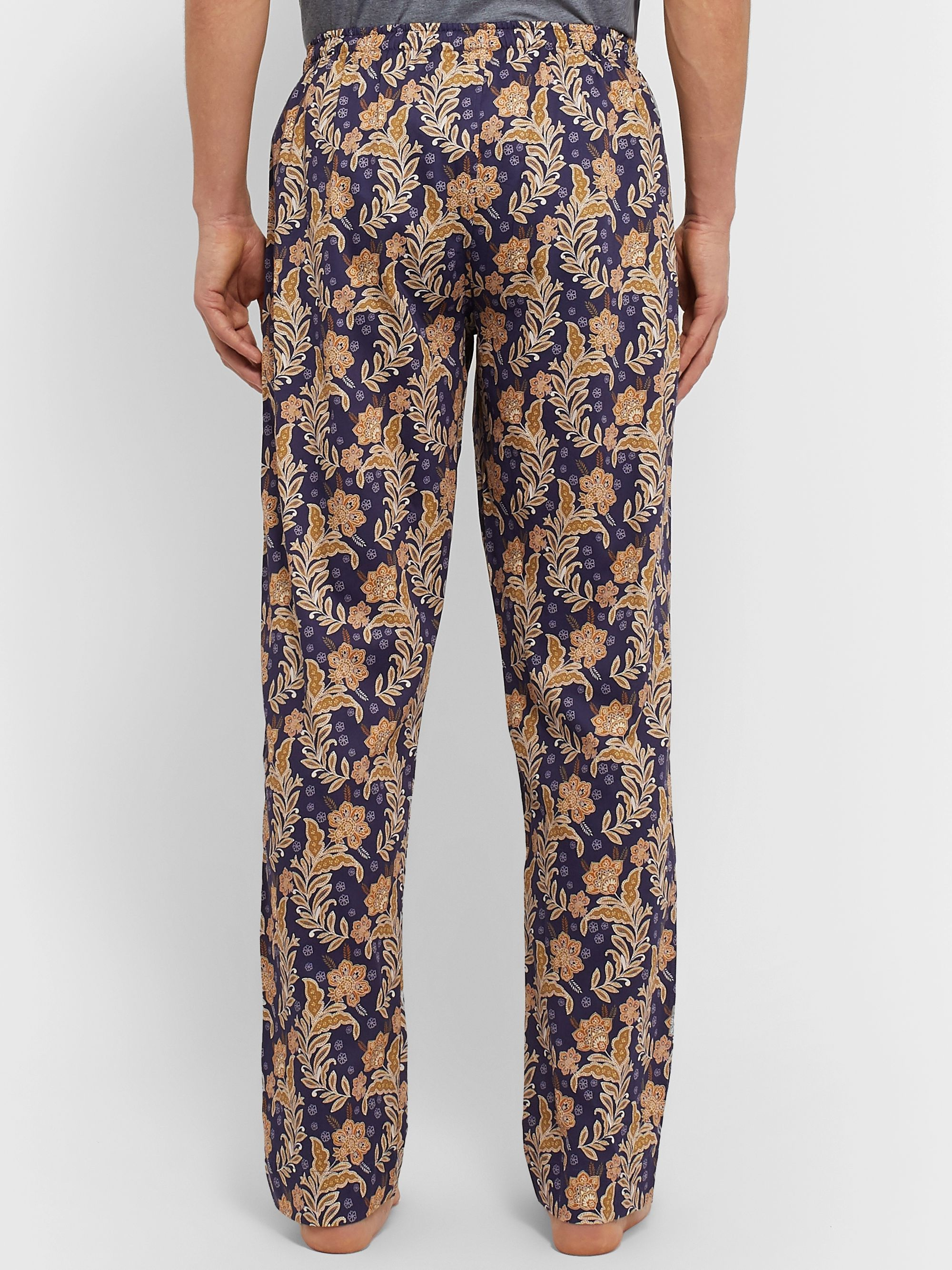 Zimmerli Floral-Print Cotton Pyjama Trousers