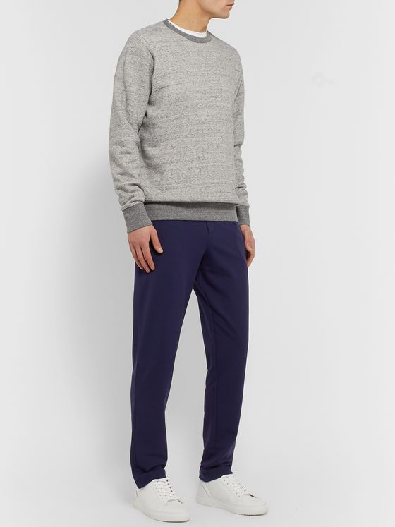 Zimmerli Slim-Fit Tapered Stretch Cotton and Modal-Blend Jersey Sweatpants