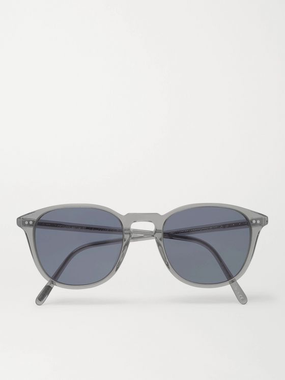 Oliver Peoples Forman L.A Round-Frame Acetate Polarised Sunglasses