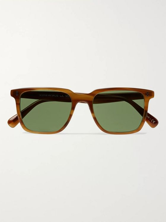 Oliver Peoples Lachman Square-Frame Acetate Sunglasses