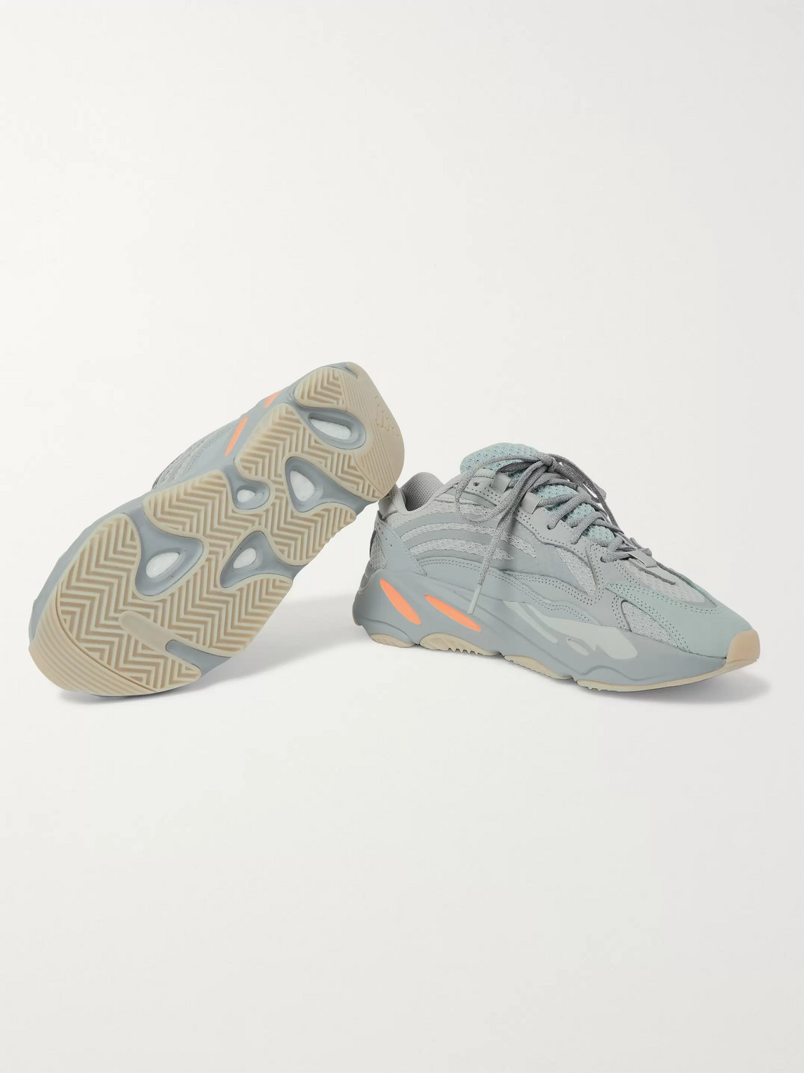 Adidas Originals Sneakers YEEZY BOOST 700 V2 SUEDE, MESH AND LEATHER SNEAKERS