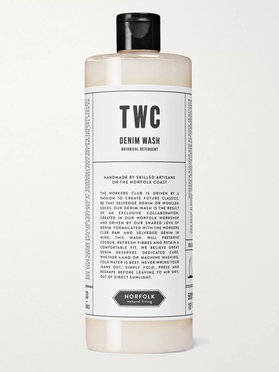 The Workers Club + Norfolk Natural Living Denim Wash, 500ml