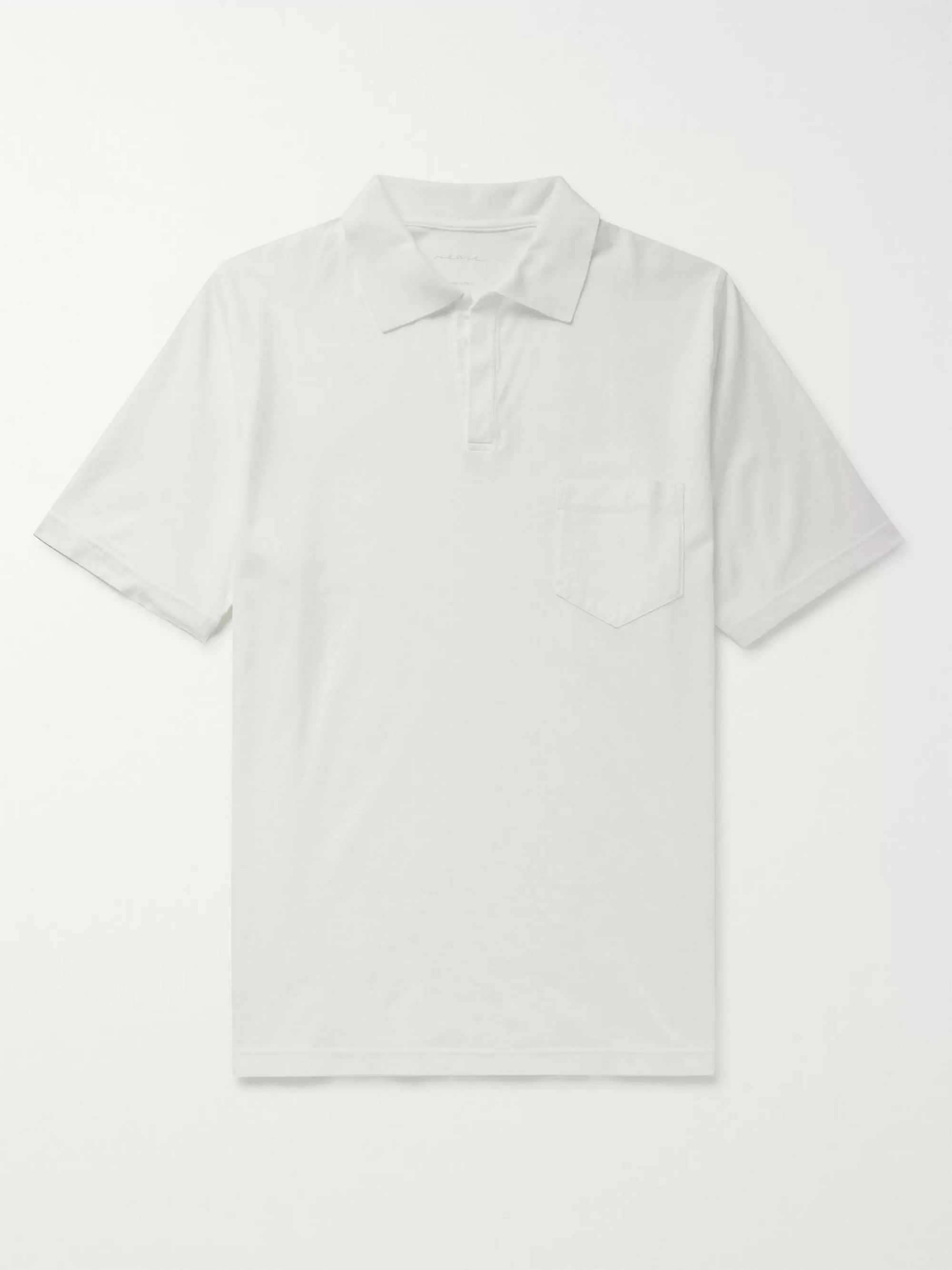 Sease Stretch-Cotton Jersey Polo Shirt