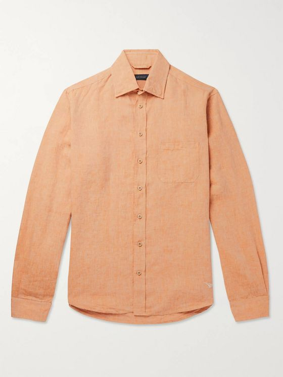 Sease Slub Linen Shirt