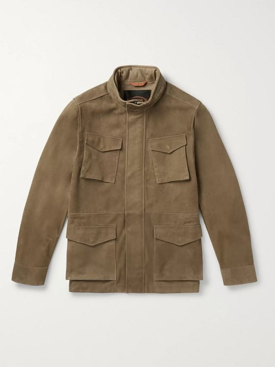 Tod's Suede Field Jacket